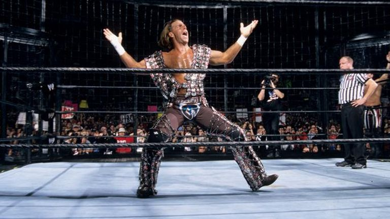 Shawn Michaels won the first Elimination Chamber Match in 2002