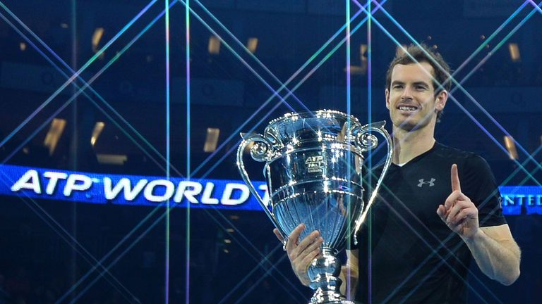 Andy Murray capped his season by winning the ATP World Tour Finals in London