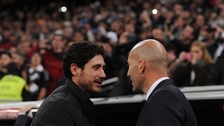 Victor Sanchez del Amo (left) will replace Poyet
