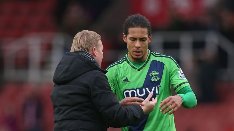 Virgil van Dijk was ever present under former manager Ronald Koeman