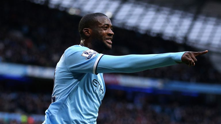 Yaya Toure has won two Premier League titles, the FA Cup and two League Cups since joining City from Barcelona in 2010