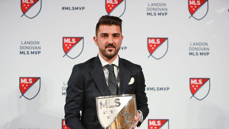Villa won the MLS MVP award in 2016