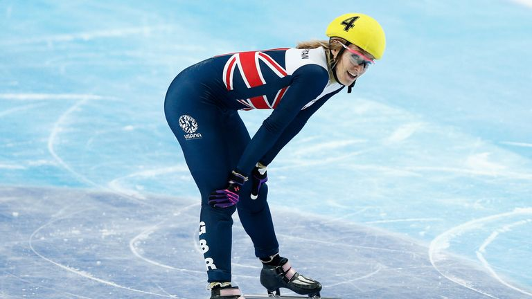 Elise Christie has won two of this season's three World Cup events over 500m