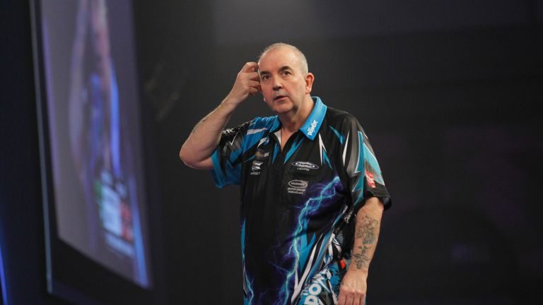 Taylor stands supreme in the world of darts with 16 BDO and PDC titles combined