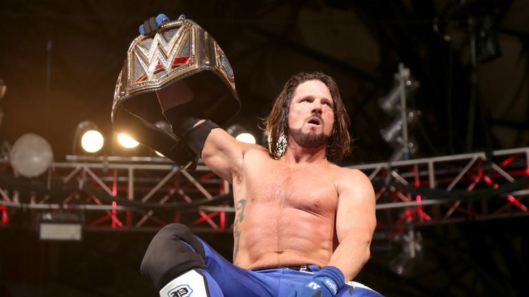 Angle says AJ Styles is 'every bit as good as Shawn Michaels'