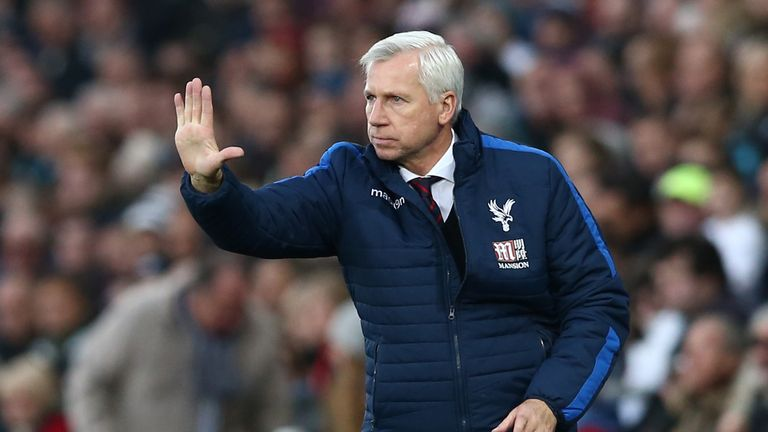 Alan Pardew's Crystal Palace were beaten in the final last season