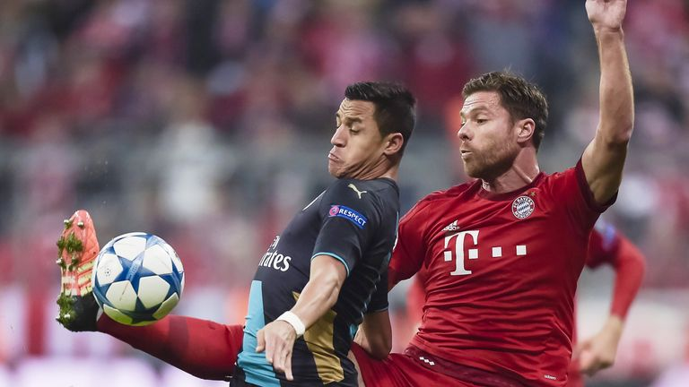 Xabi Alonso remains a key player at Bayern Munich