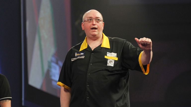 Andrew Gilding defeated a number of big names en route to sealing his Wolverhampton debut