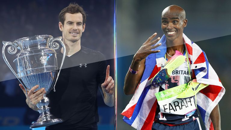 Andy Murray and Mo Farah are among sport's new knights