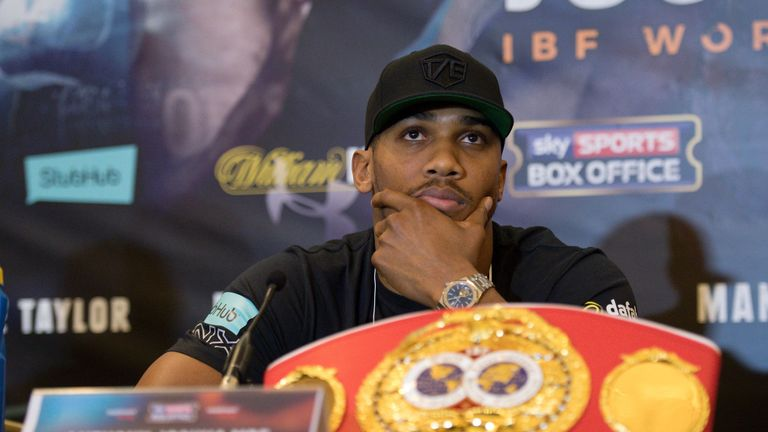 Negotiations for Anthony Joshua to face Joseph Parker have stalled this week
