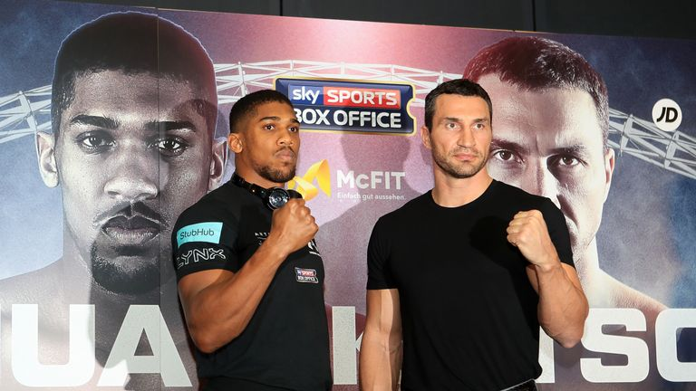 Anthony Joshua and Wladimir Klitschko will meet in an eagerly-awaited showdown at a sold-out Wembley in the spring
