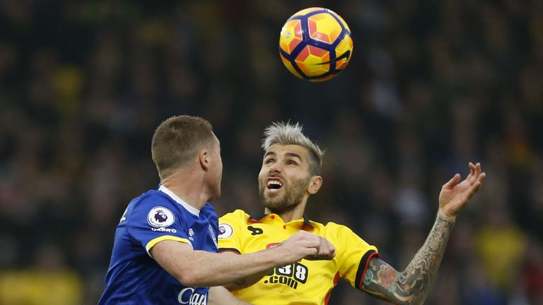 Valon Behrami did not play in the 2-0 defeat at Hull last time out