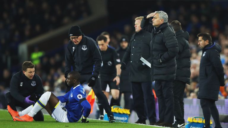 Bolasie has been out of action since injuring his knee against Manchester United
