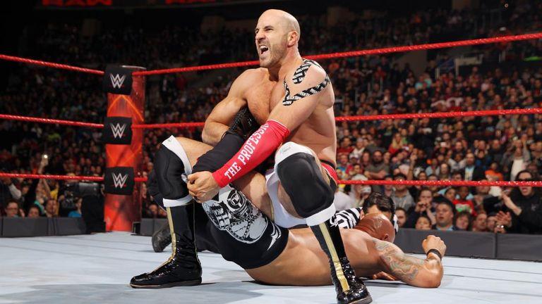 Cesaro impressed on Monday Night Raw