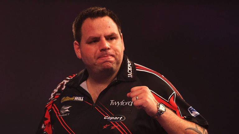 Adrian Lewis crushed Joe Cullen to advance at the World Championship