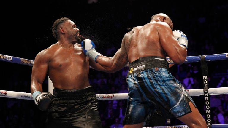 Whyte and Chisora traded leather for twelve gruelling rounds