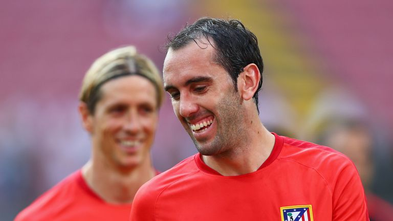 Diego Godin has impressed for Atletico Madrid
