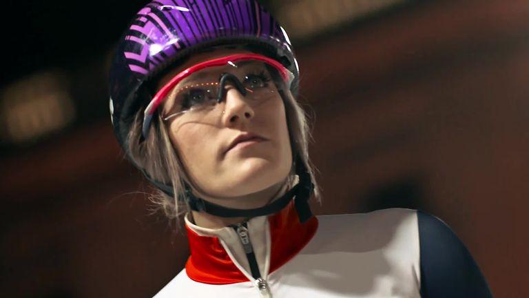 Elise Christie started short track speed skating aged 12