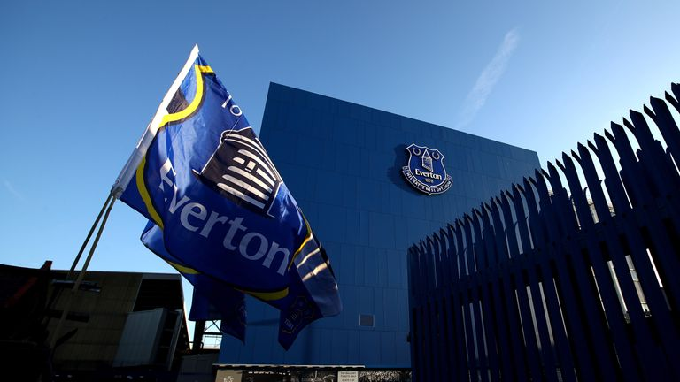 The proposed stadium which is set to replace Goodison Park – Everton's home since 1892.
