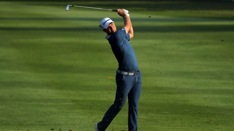 Justin Rose sits six strokes off the pace after the opening day