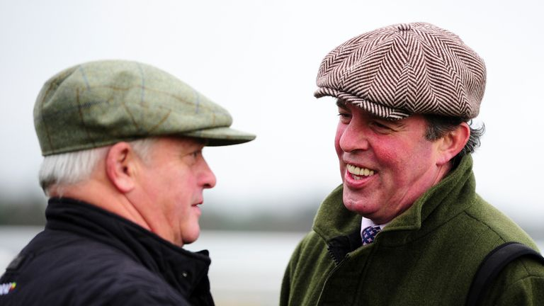 Tom George (right): No concerns over Wild West Wind