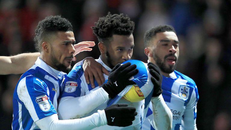 Kasey Palmer has established himself as a Huddersfield regular