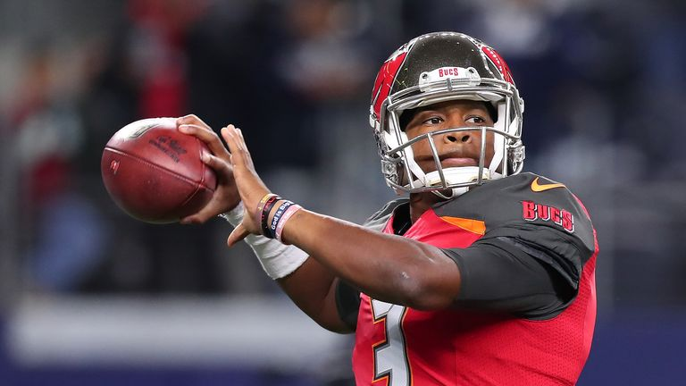 Jameis Winston is back leading the Buccaneers at quarterback