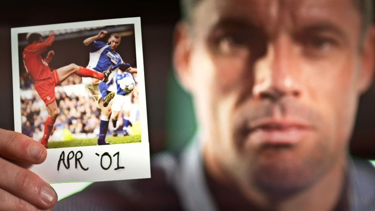Jamie Carragher took a trip down memory lane for The Fantasy Football Club's In The Picture