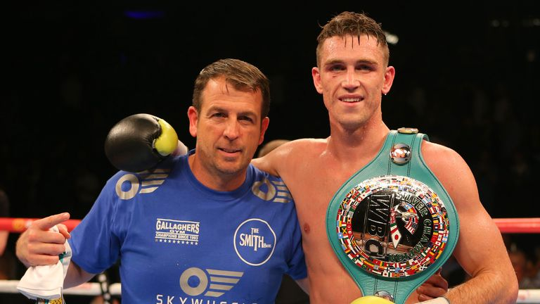 Callum Smith is first in line to fight for the WBC title
