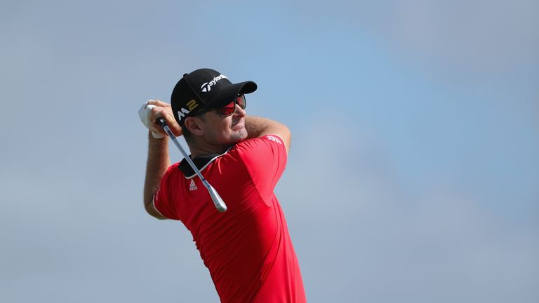 Justin Rose was in last place after his opening 74 in the Bahamas