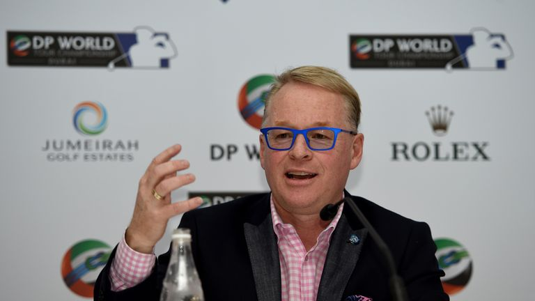 Keith Pelley announced the European Tour's 2017 schedule on Tuesday