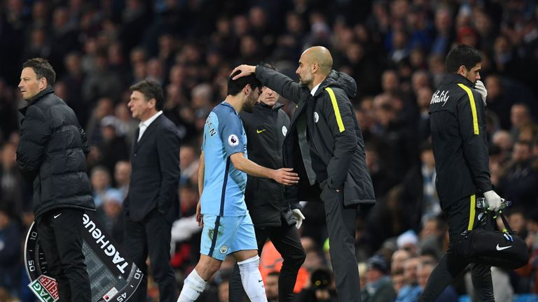 Guardiola sees his City side seven points off the leaders