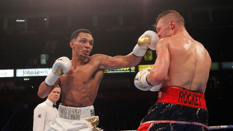 Marcus Morrison extended his perfect unbeaten record with victory over Harry Matthews