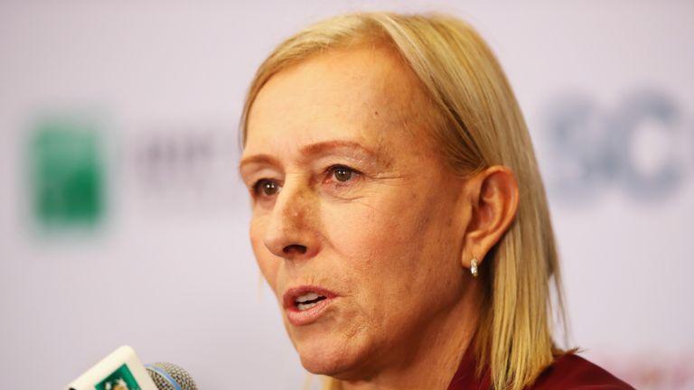Martina Navratilova accuses Margaret Court of stigmatising the LGBT community