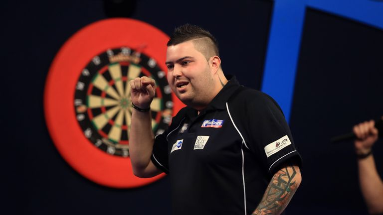 Billedresultat for michael smith darts