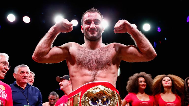 Murat Gassiev will be boxing on home soil in Moscow