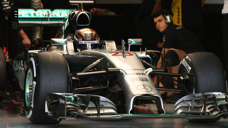 Pascal Wehrlein tests for Mercedes at Silverstone in July