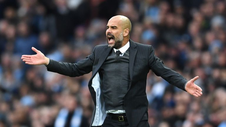 Paul Merson thinks the pressure is getting to Pep Guardiola
