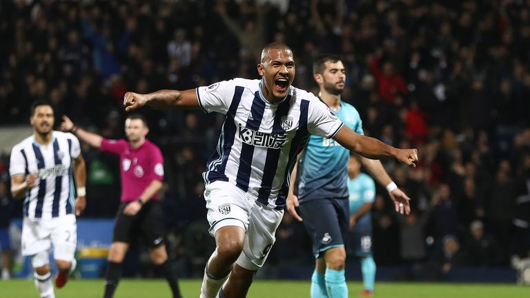 Salomon Rondon has only scored two Premier League goals for West Brom this season