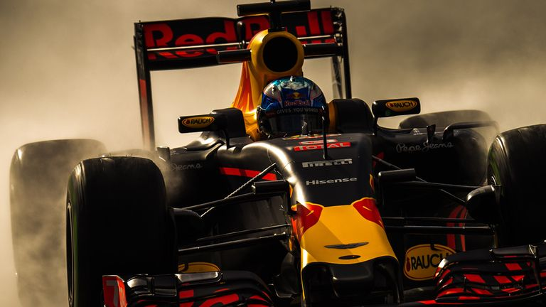 Daniel Ricciardo in action for Red Bull - Picture from Sutton Images