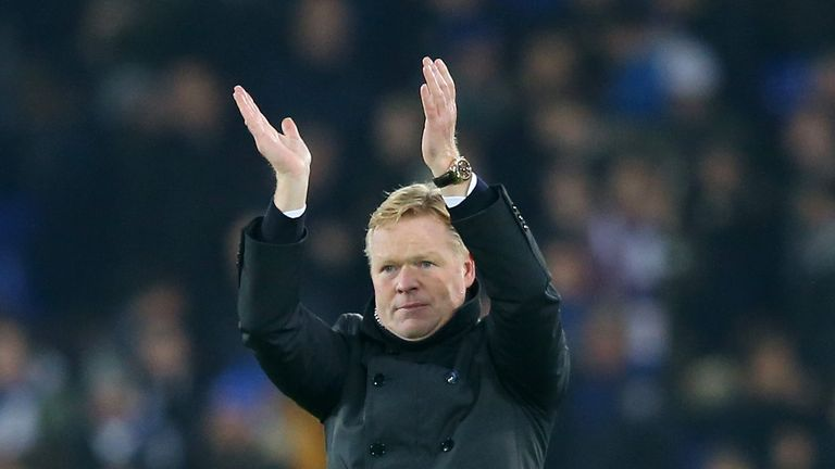 Koeman says a new stadium is important for Everton