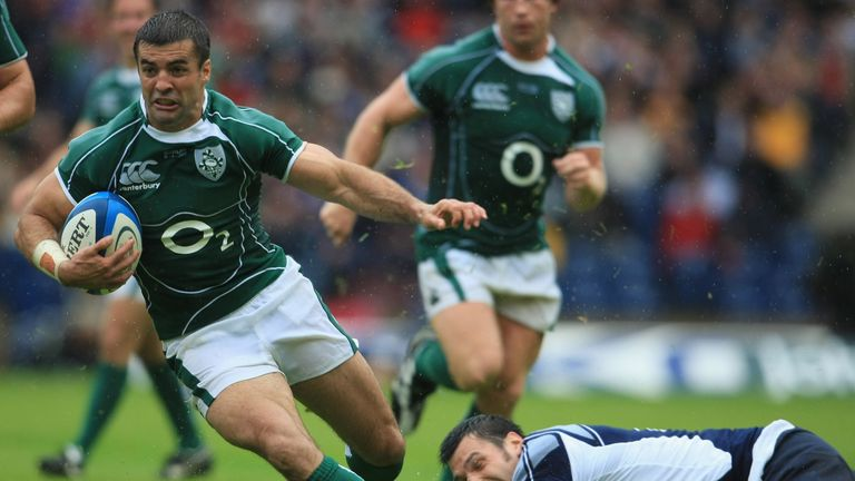 Carney won four caps for Ireland and scored a try on his debut against Argentina