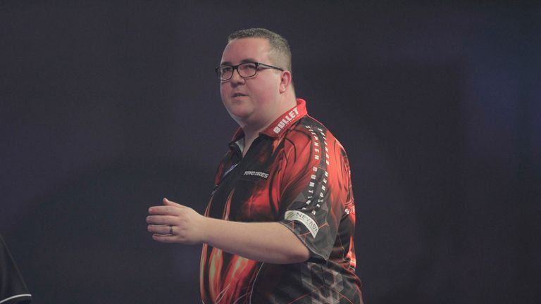 Stephen Bunting stormed through qualification, dropping just five legs in total