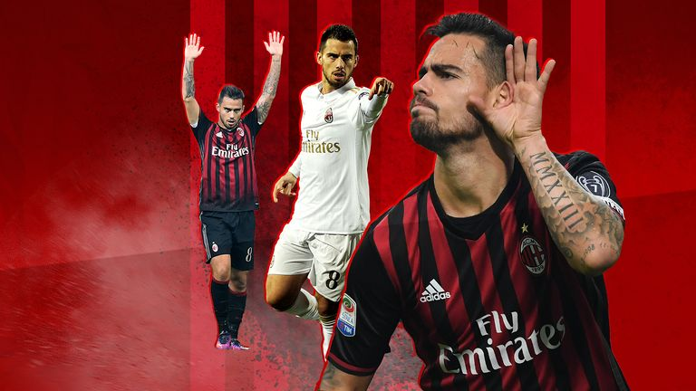 Arsenal will need to keep a close eye out on Suso when they play Milan in the Europa League on Thursday