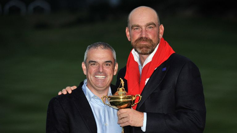 Bjorn is looking forward to linking up with winning 2014 captain Paul McGinley at Augusta