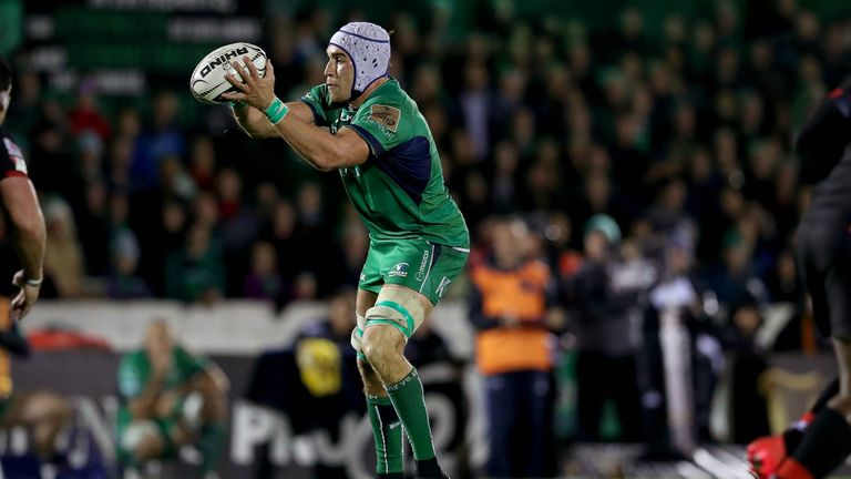Connacht's Dillane had established himself as a key fixture in Ireland's matchday squad until his injury