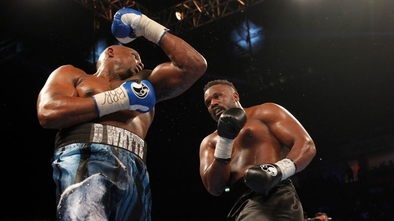 Whyte's superior work-rate seemed to edge a number of the rounds