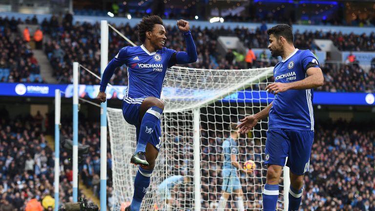 Chelsea beat Man City 3-1 at the Etihad in December
