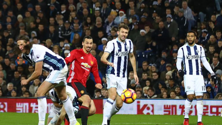 Ibrahimovic nets his second against West Brom