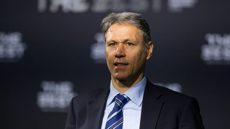 Marco van Basten was appointed FIFA technical director in September